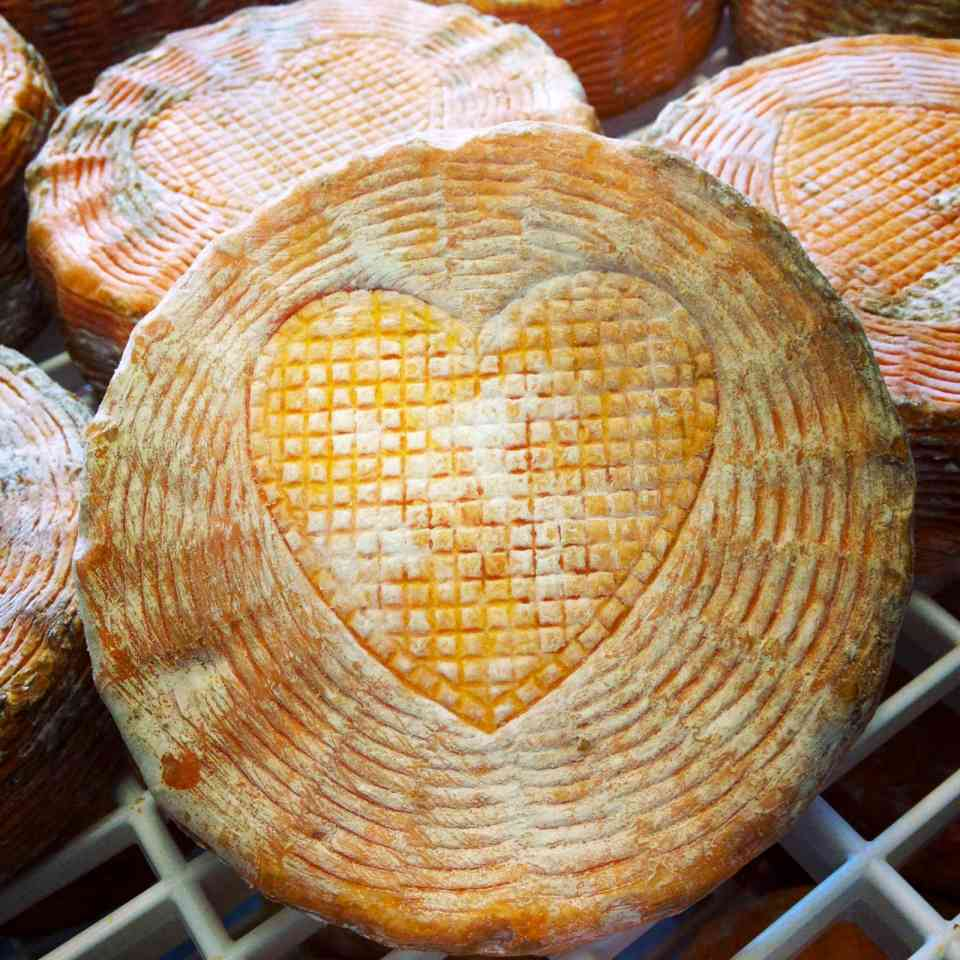 Funky Bleats cheese - Bleating Heart Cheese