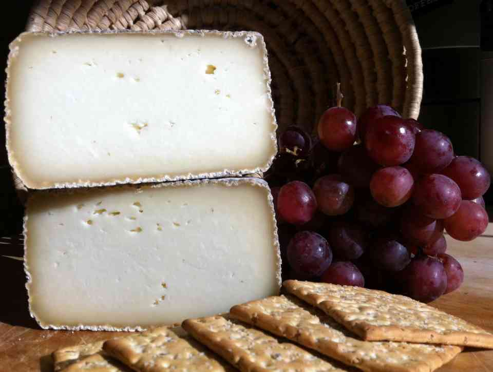 Shepherdista sheep milk cheese from Bleating Heart