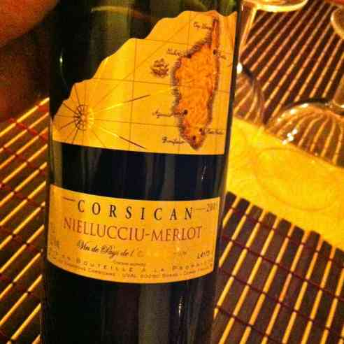 One of the many bottles of Corsican wine we enjoyed during our time there