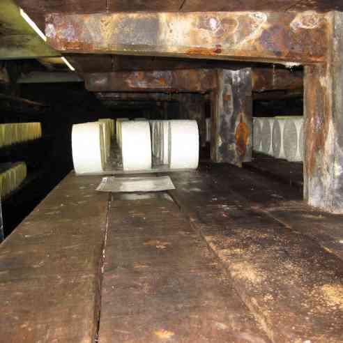 Roquefort aging cave