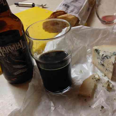 Ewelicious cheese is great with stout!